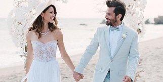 Beren ve Kenan'ın düğününden ilk fotoğraflar